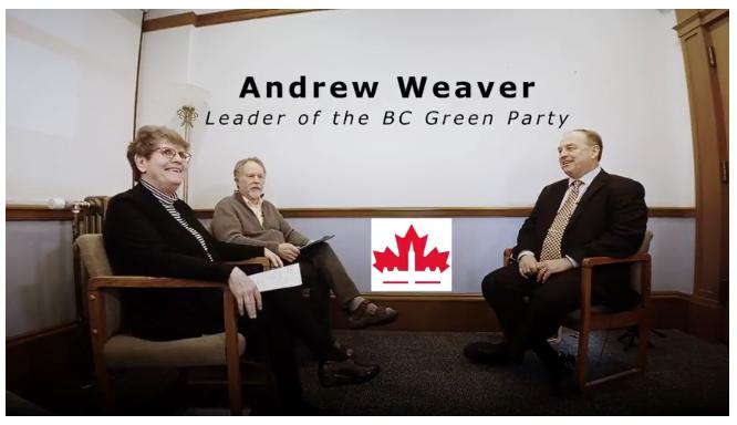 Andrew Weaver interview